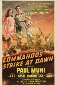 Коммандос атакуют на рассвете / Commandos Strike at Dawn (1942)