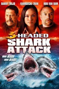 Нападение трёхголовой акулы / 3-Headed Shark Attack (2015)