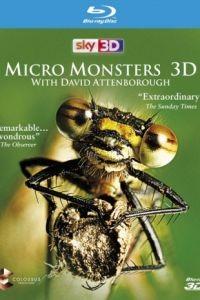 Cмотреть Микромонстры 3D с Дэвидом Аттенборо онлайн на Хдрезка качестве 720p