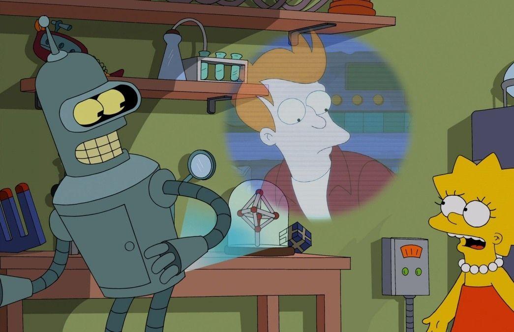 Барт и лиза симпсон смотреть онлайн мультик