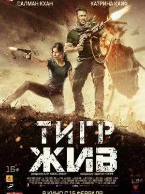 Тигр жив / Tiger Zinda Hai (2017)