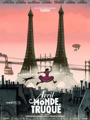 Аврил и поддельный мир / Avril et le monde truqu? (2015)