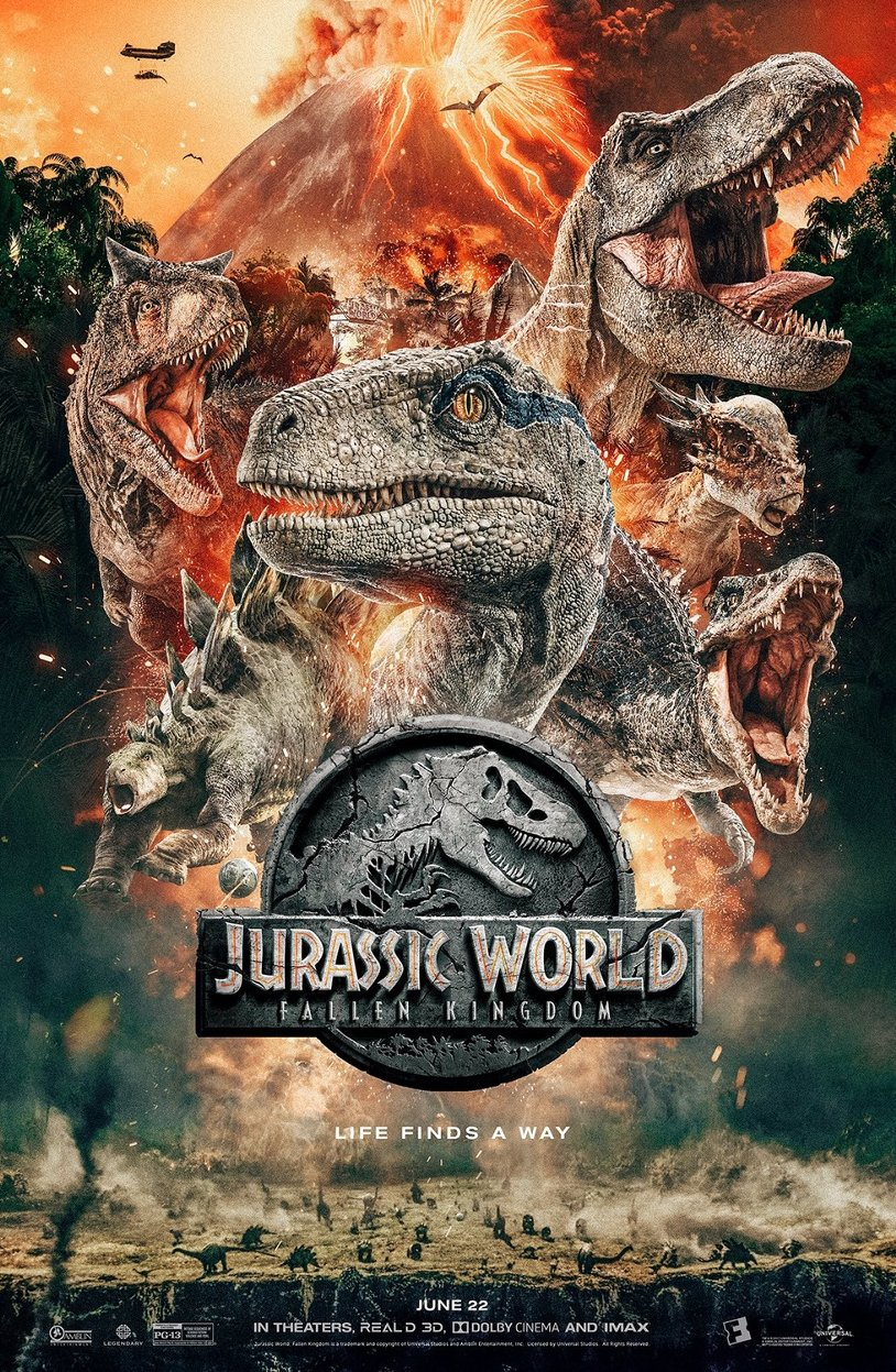 Смотреть Мир Юрского периода 2 / Jurassic World: Fallen Kingdom (2018) онлайн ХДрезка в HD качестве 720p