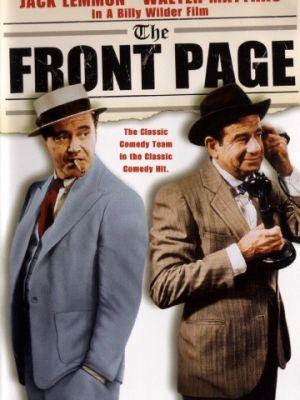 Первая полоса / The Front Page (1974)