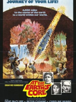 Путешествие к центру Земли / At the Earth's Core (1976)