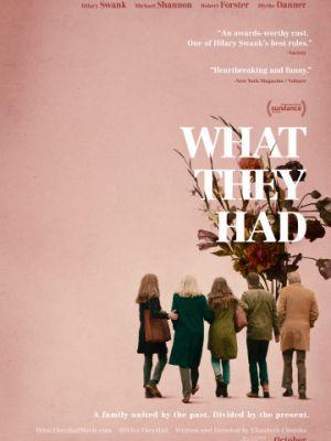 Что у них было / What They Had (2018)