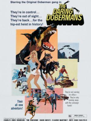 Отважные доберманы / The Daring Dobermans (1973)