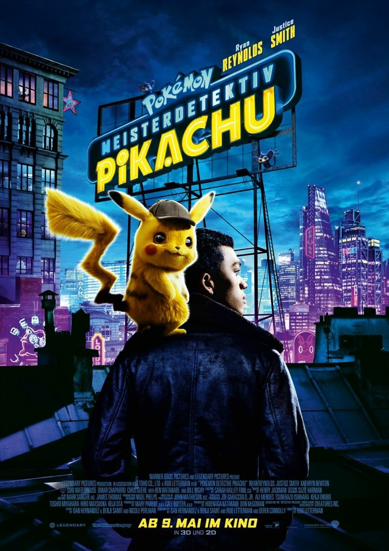 Смотреть Покемон. Детектив Пикачу / Pok?mon Detective Pikachu (2019) онлайн ХДрезка в HD качестве 720p