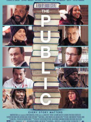Cмотреть Общественная библиотека / The Public (2018) онлайн в Хдрезка качестве 720p