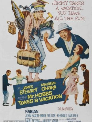 Мистер Хоббс берет выходной / Mr. Hobbs Takes a Vacation (1962)