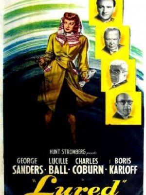 Cмотреть Соблазненный / Lured (1947) онлайн на Хдрезка качестве 720p