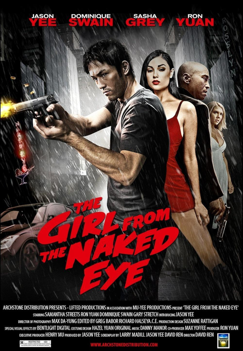 Ошибка телохранителя / The Girl from the Naked Eye (2012)
