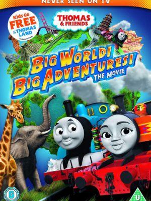 Cмотреть Томас и его друзья: Кругосветное путешествие / Thomas & Friends: Big World! Big Adventures! The Movie (2018) онлайн на Хдрезка качестве 720p