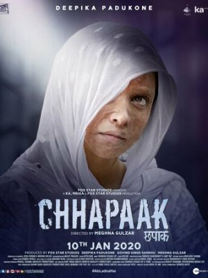 Cмотреть Брызги / Chhapaak онлайн на Хдрезка качестве 720p