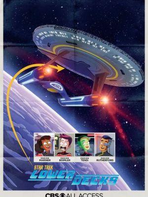 Cмотреть Звездный путь: Нижние палубы онлайн на Хдрезка качестве 720p