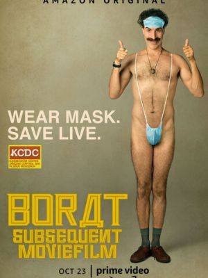 Смотреть Борат 2 / Borat: Gift of Pornographic Monkey to Vice Premiere Mikhael Pence to Make Benefit Recently Diminished Nation of Kazakhstan онлайн ХДрезка в HD качестве 720p