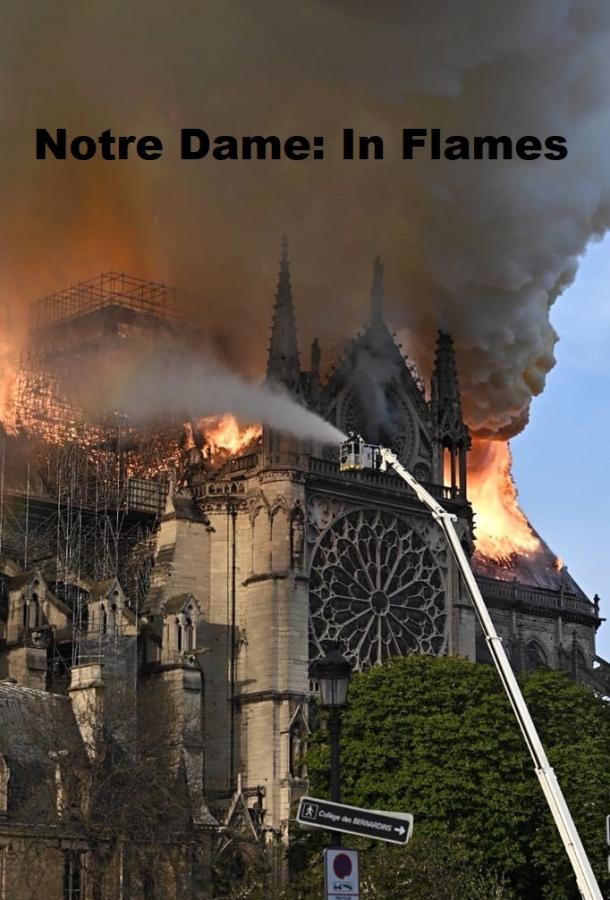 Нотр-Дам в огне