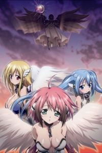 Упавшая с небес / Gekijouban Sora no otoshimono: Tokei jikake no enjeroido (2011)