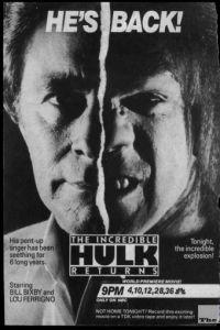Невероятный Халк: Возвращение / The Incredible Hulk Returns (1988)