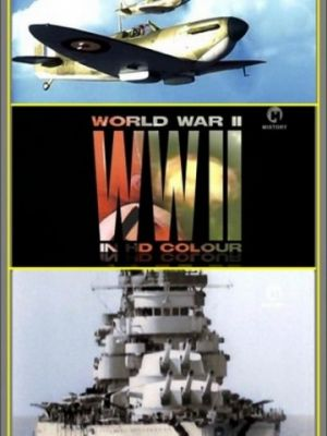 Cмотреть Вторая мировая война в цвете   онлайн на Хдрезка качестве 720p