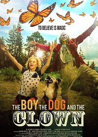 Мальчик, собака и клоун