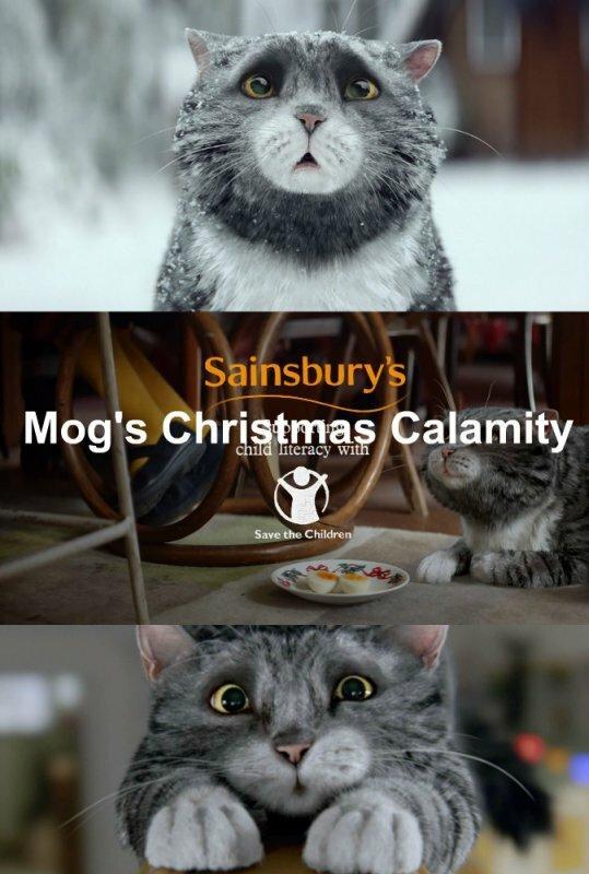 Рождественские злоключения Мог / Sainsbury's: Mog's Christmas Calamity (2015)