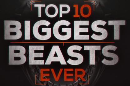 Топ-10 мегамонстров / Top 10 Biggest Beasts Ever (2015)