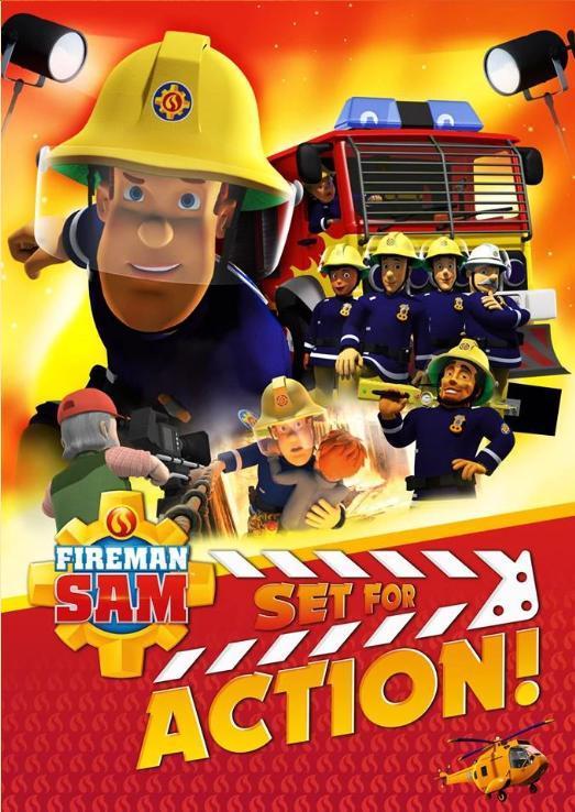 Пожарный Сэм: Приготовиться к съёмкам!